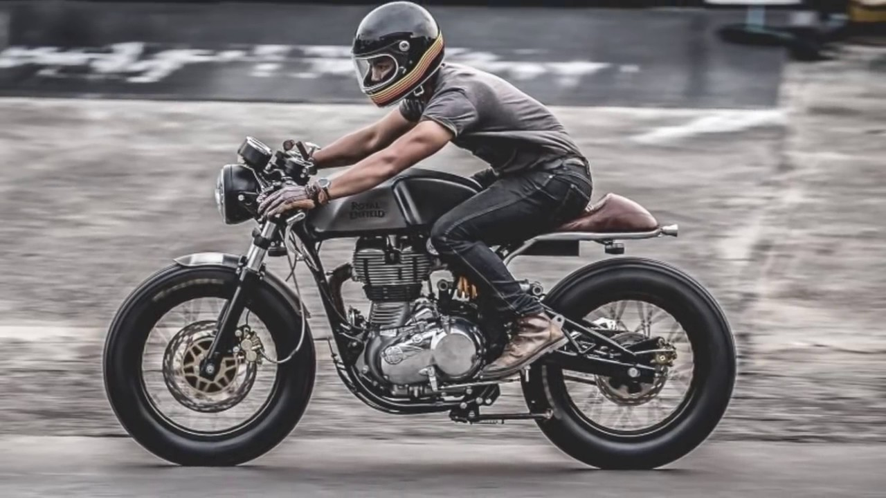 Cafe Racer Royal Enfield Continental GT 535 by custom 44 hd