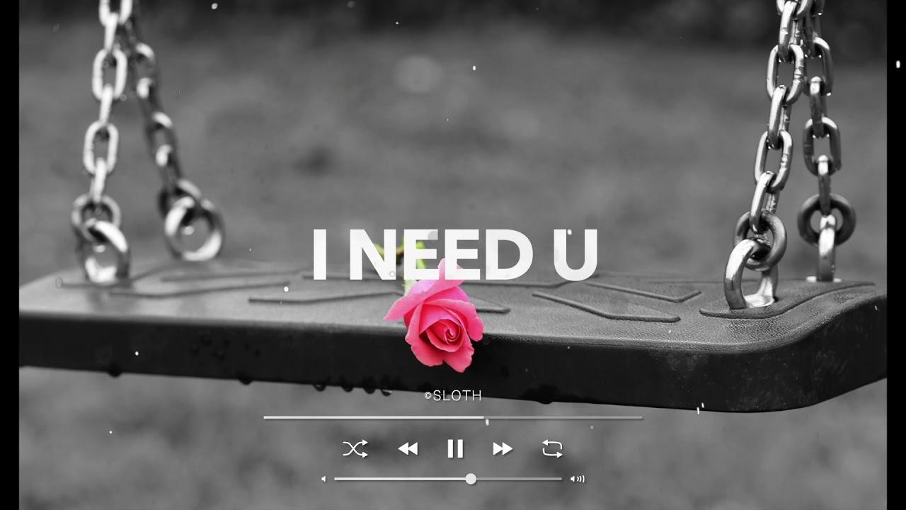 [Free] 재하타입비트, 창모타입비트, 감성 지리는 비트! / 재하 X 창모 타입 비트, EMO Hip Hop Type beat l I Need U (Prod. SLOTH)