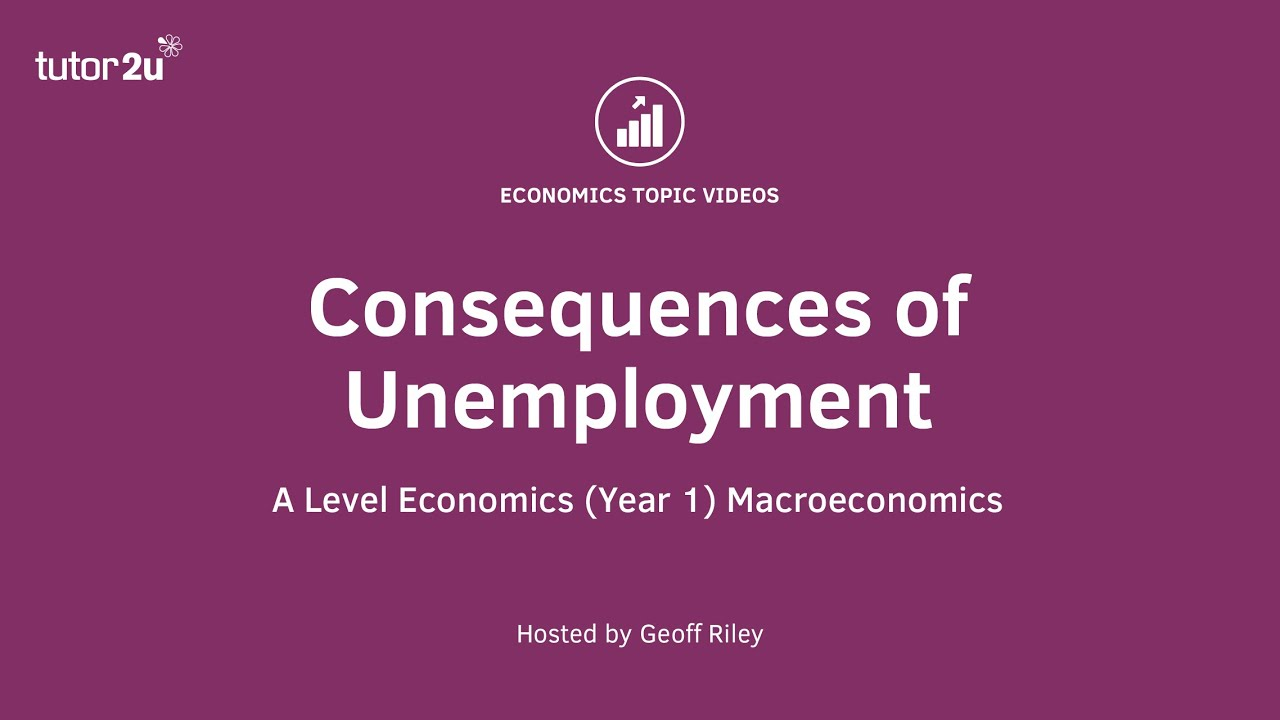 economic and social costs of unemployment economic and social costs of unemployment