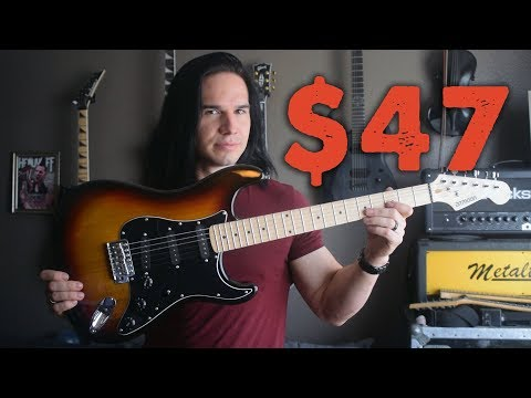 The Cheapest Guitar You Can Buy! - Demo / Review