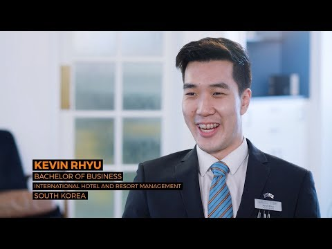 Pedro & Kevin, South Korea, International Hotel & Resort Management