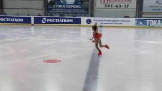 "Tursynbaeva Elizabet ""Хрустальный конек 2009"""
