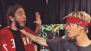 Justin Bieber Gives Post Malone A Taste Of His Own Medicine