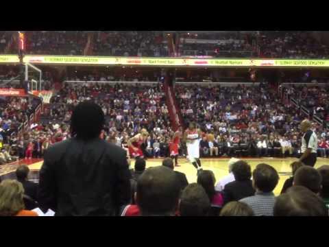 Courtside Big Bucket by AJ Price Wizards Bulls