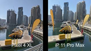 Google Pixel 4 XL vs iPhone 11 Pro Max - Daylight Camera Comparison - Did Apple take the crown?
