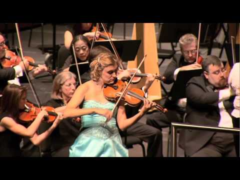 Jessica Mathaes performs Mendelssohn Violin Concerto