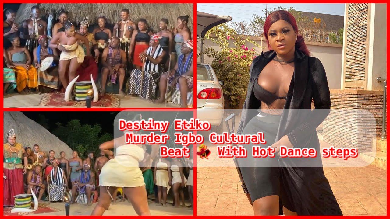 Download Destiny Etiko Dances to Igbo cultural Drum Beat with Hot MOVES [Destiny Etiko Kill this Dance ]
