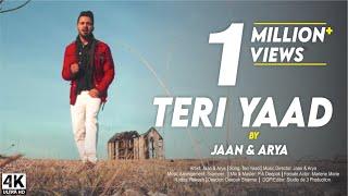 TERI YAAD | JAAN & ARYA | OFFICIAL MUSIC VIDEO | New Hindi Songs 2017
