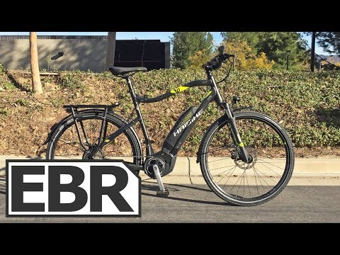 Haibike SDURO Trekking 4.0 Video Review - $2.5k Touring Electric Bike, Value Priced