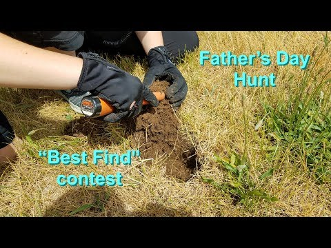 Father's Day Metal Detecting Contest!