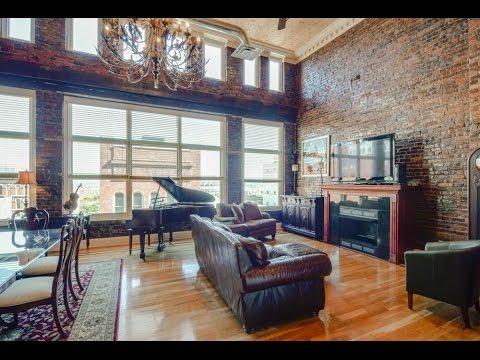 Phoenix Lofts Penthouse In Downtown Nashville Youtube