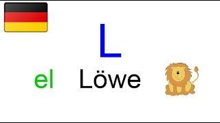 lezione di tedesco youtube #15 - l' alfabeto tedesco