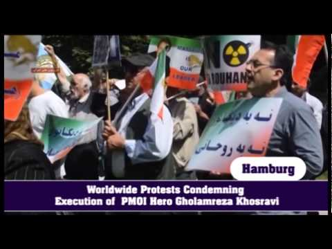 Worldwide Protests Condemning Execution of Gholamreza Khosravi