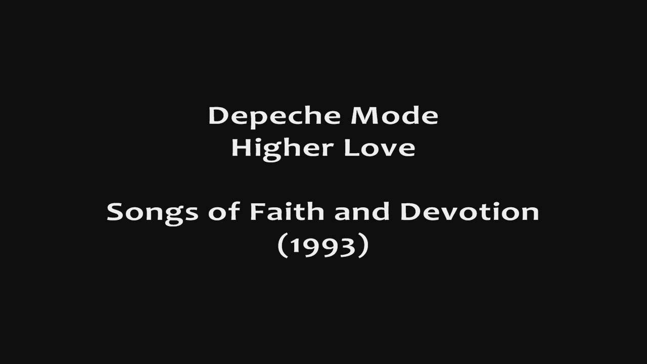 Depeche Mode - Higher Love HD (audio only) - YouTube