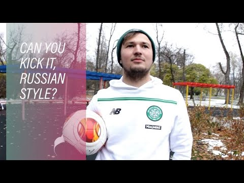 Green shirts, red square: Russia's own Celtic FC