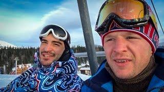 New Stream Team. Александр Шлеменко и Андрей Корешков в Шерегеше.