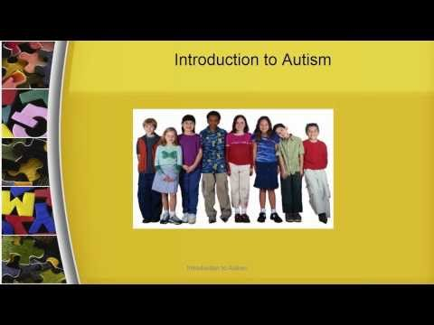 Introduction to Autism Module 1
