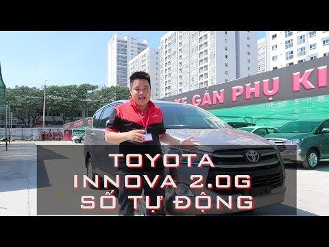 Toyota Innova G 2018 [ Hotline 0937776556] số tự động - Review tại Toyota Phú Mỹ Hưng (HD)
