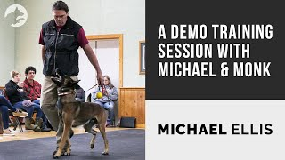 A Demo Training Session with Michael Ellis and Monk