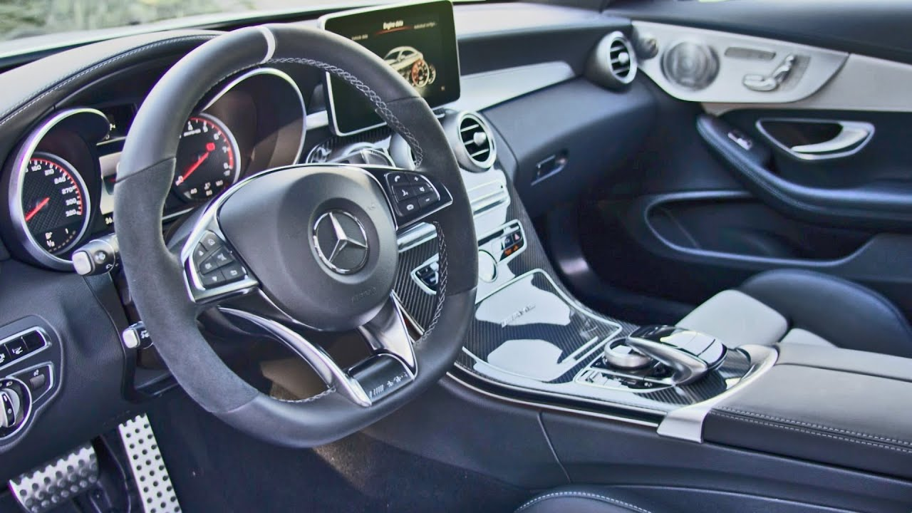 2016 Mercedes-AMG C 63 S Coupe INTERIOR - YouTube