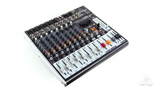 XENYX X1222USB Premium 16-Input 2/2-Bus Mixer with built in USB/Audio Interface