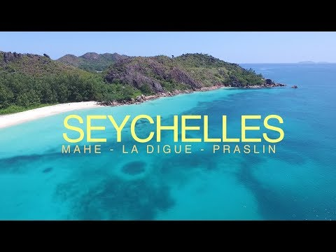 SEYCHELLES Islands - DRONE views - Mahé - La Digue - Praslin