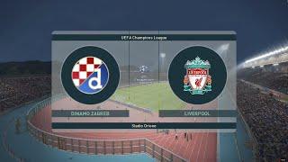 PES 2019 Champions League -Quarter final 1st leg - Dinamo Zagreb vs Liverpool