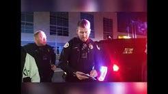 Cops at Twin Falls car meet.