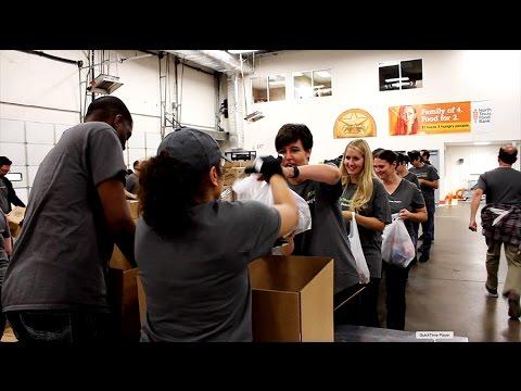 DTC Volunteers at North Texas Food Bank