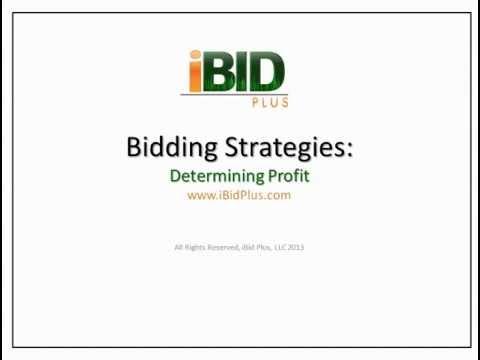 iBid Plus Landscape Bid Series-# 6 Determining Profit
