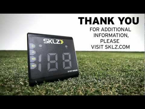 How to Use Your SKLZ Sport Radar for Baseball, Football, Lacrosse and Soccer