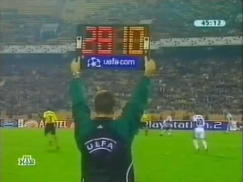 Боруссия реал обзор матча на нтв