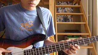 Learn for begginers-Bass riff: Stand by me-Ben E. King (with tabs)