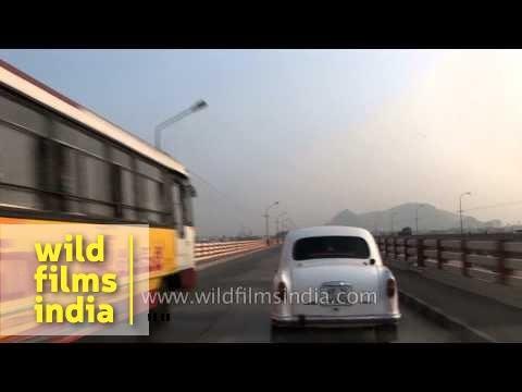 Driving through the roads of Andhra Pradesh