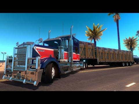American Truck Simulator | Cruzando a México rumbo Cabo San Lucas