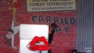 Ventriloquist live Sylvia Fletcher and Smoulder