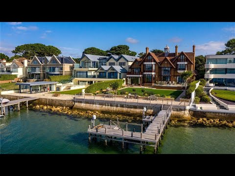 French Chateaux-Inspired Waterside Luxury Property Tour - Fine & Country Sandbanks
