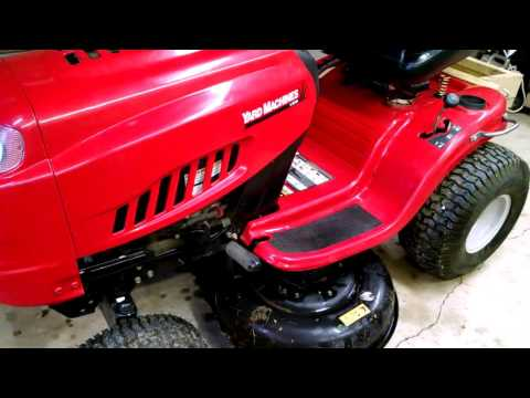 Yard Machines riding mower by MTD