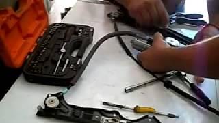 Reparación de levanta vidrios - como cambiar el cabo del levanta vidrio