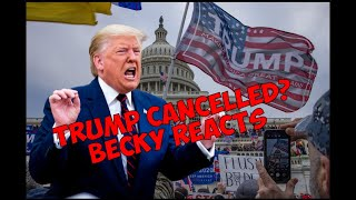 Trump Cancelled? Becky Reacts to Impeachment