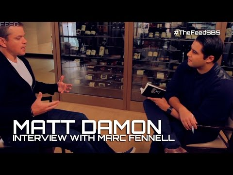 Matt Damon on Edward Snowden, surveillance, and Ben Affleck - The Feed