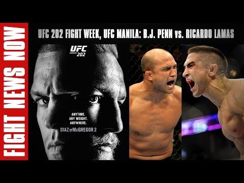 UFC 202 Fight Week, UFC 204 Announced,...