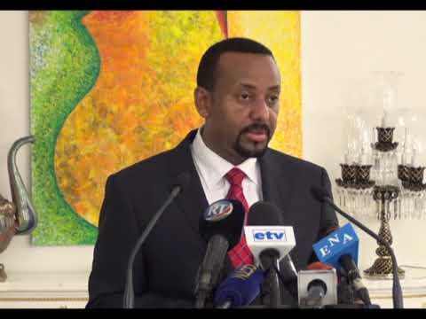 le 1er ministre Ethiopien abaye  Ahmed a Djibouti