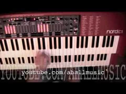 Nord C1 Organ Demo More Percussion at the End