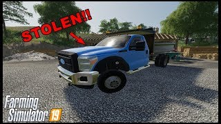 STEALING DUMP TRUCK AND CROPS - MULTIPLAYER - Farming Simulator 19