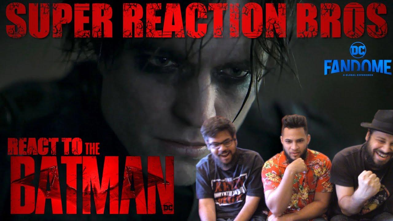 Download SRB Reacts to The Batman | DC FanDome Teaser Trailer
