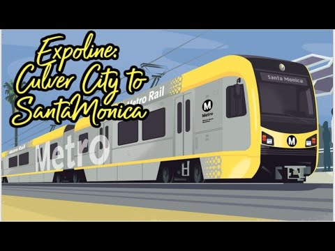 Riding the Expo Line to Santa Monica (Opening Weekend)