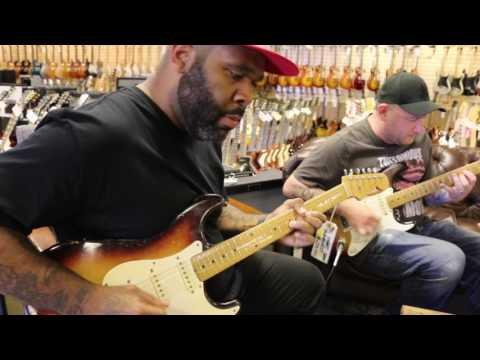 Kirk Fletcher & Josh Smith playing a pair of Original 1958 Fender Stratocasters