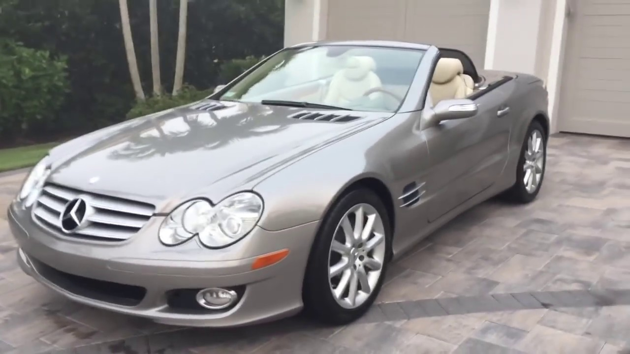 2007 Mercedes Benz SL550 Roadster Review and Test Drive by ...