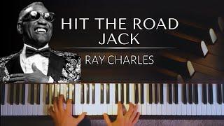 Ray Charles: Hit The Road Jack + piano sheets